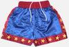 Budoten Boxershorts blau m. roten Streifen