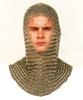 Kettenhaube europaeische+waffen kettenhemd helme wikinger ruestungen mittelalter ohneangabe ritterausrüstung ritter ritterbedarf xwaffen