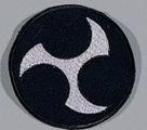 Stickabzeichen Okinawa-Karate