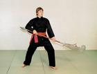 Budoten Kung-Fu und Tai Chi Anzug  Shaolin  schwarz