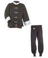 Ju-Sports Kung Fu Anzug schwarz/weiß, Cotton