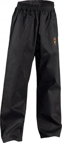 Asia-Shiro pants black uniform karategi karate pants trousers