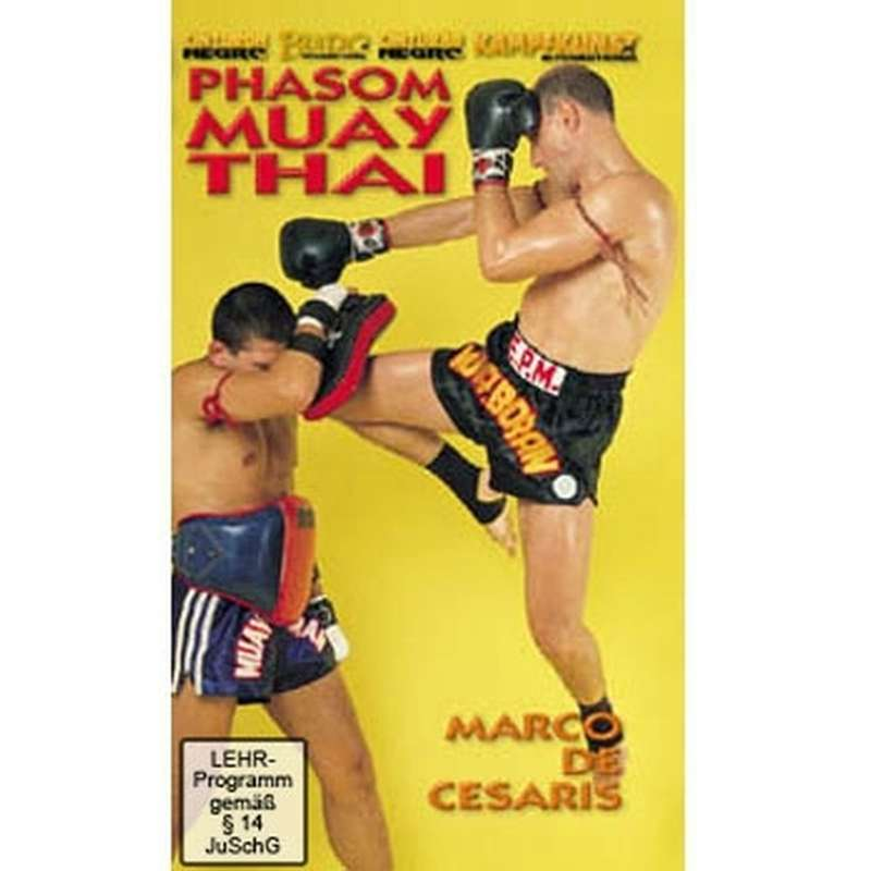 DVD Phasom Muay Thai dvd dvds lehrmittel video videos kickboxen muay thai kickboxing thaiboxing