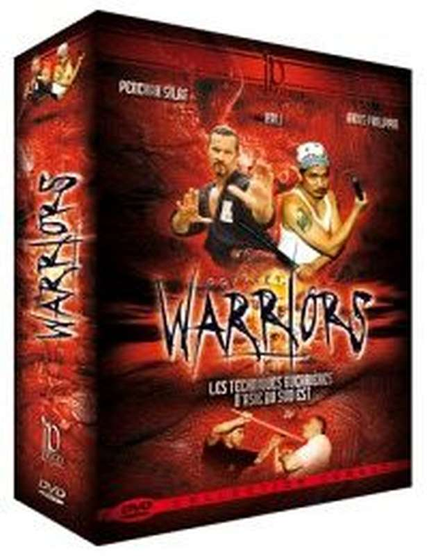 Warriors 3 DVD Box dvd arnis+escrima+kali self+defence self+defense