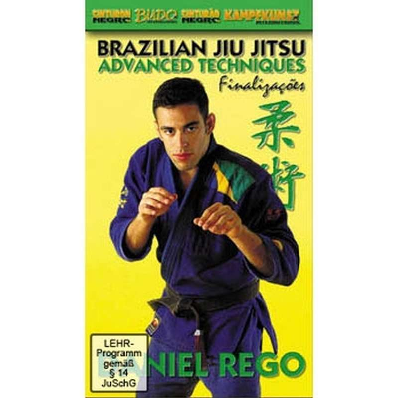 DVD Rego - Brazilian Jiu Jitsu Advanced Techniques dvd dvds lehrmittel video videos ju-jutsu ju+jutsu selbstverteidigung machado brazilian jiu-jitsu gracie bjj vale tudo