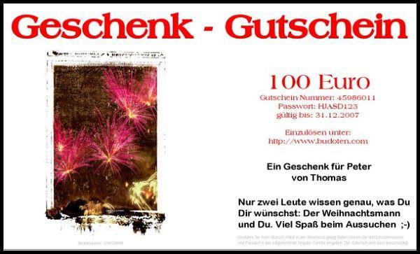 Letter and gift certificates in card design fireworks geschenkgutscheine geschenkgutschein briefgutschein kartendesign