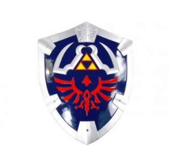 Shield Legend of Zelda B18 europaeische+waffen schilde ruestungen mittelalter schaukampfgeeignet schaukampffähig schaukampf ritterschilde kampfschild ritterausrüstung ritterbedarf xwaffen