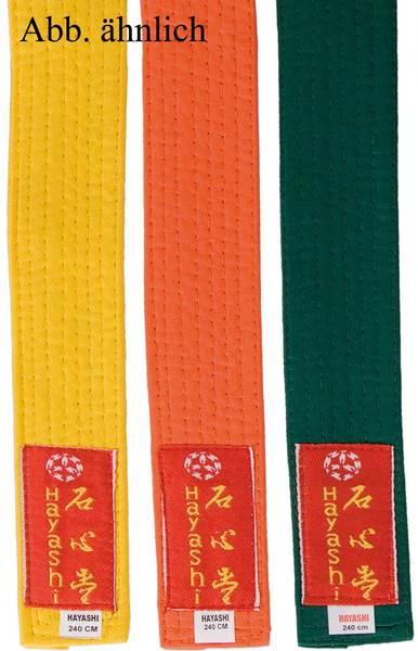 Children's Belts monochrome FIGHT CATS Velcro uniform belt