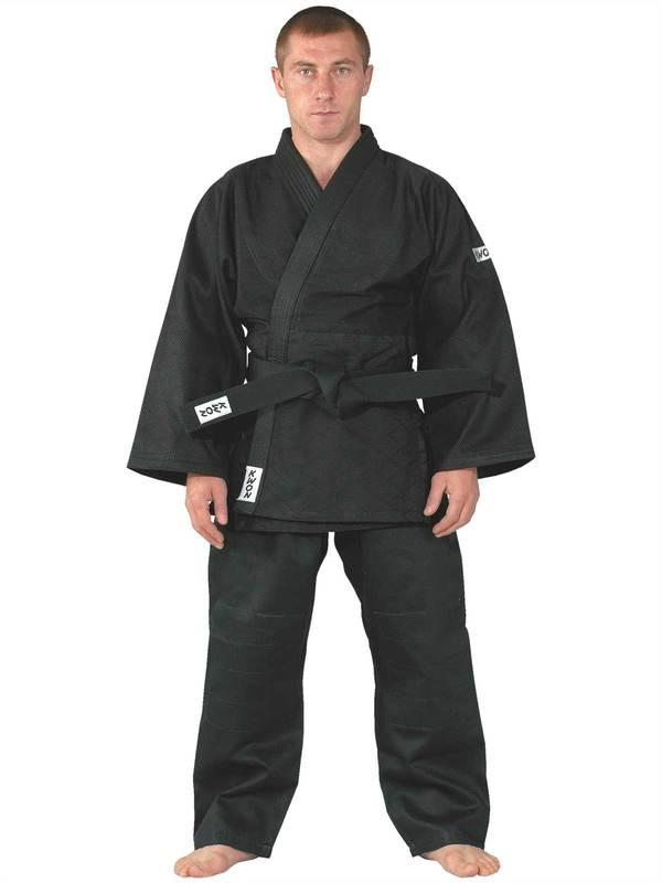 Judo uniform Training black, medium-weight uniform judo judogi