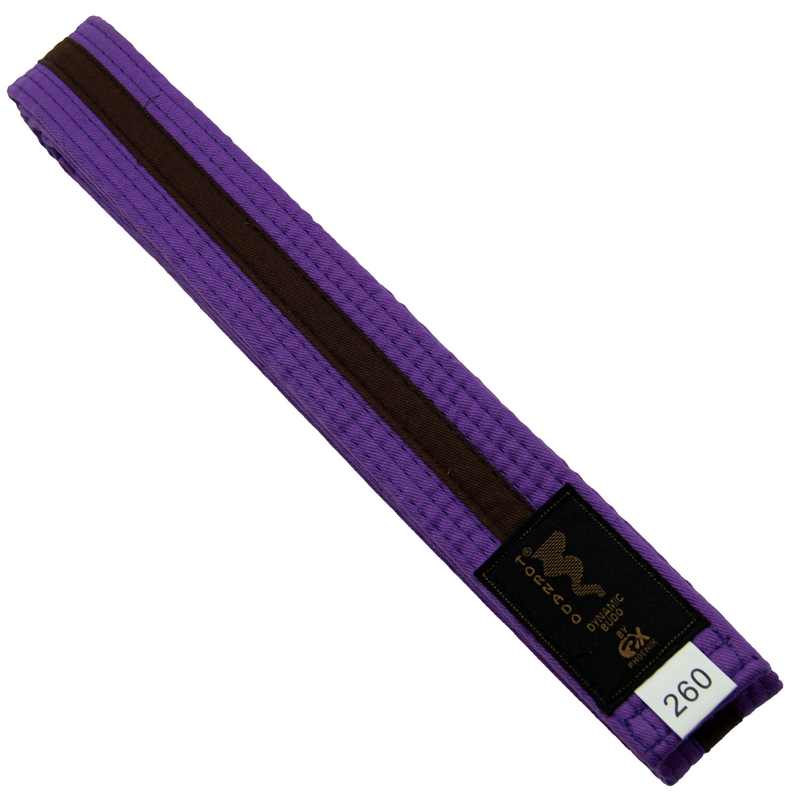 Budogürtel violett-braun uniform belt