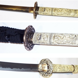 samurai schwert kaufen 17 jahrhundert antik