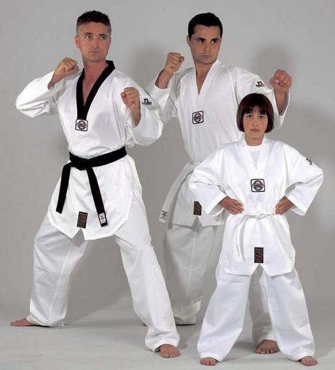 Kukkiwon-Kwaido-Competition white lapel uniform taekwondo