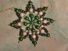 7 cm Perlenstern, Deluxe mit echten Svarowski-Kristallen, SAC203071609