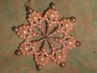 7 cm Perlenstern, Standard in Rose und Weiß SAC206071200