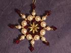7 cm Perlenstern, Deluxe mit echten Svarowski-Kristallen, SAC209071519
