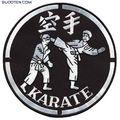 Sportimex Aufnäher Karate groß