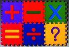 Trendy Puzzlematte Rechenzeichen