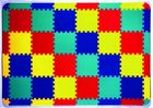 Trendy Puzzlematte ohne Motiv 48 Teile mit Rand