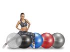 Bureba Gymnastikball 75 cm Schwarz