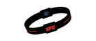 EFX Silikon Sportarmband Schwarz/Rot, Gr. L