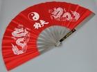 Kung Fu Fächer rot