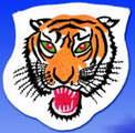 Budoten Stickabzeichen  Tiger