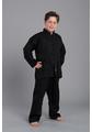 Shaolin II - Kung Fu Anzug - schwarz 170