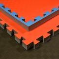 Budoten SV Steckmatte 4 cm dick in blau-rot
