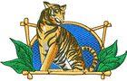 Budoten Stickmotiv Tiger - EMB-WO803