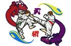 Budoten Stickmotiv Großes Martial Arts Logo / Large Martial Arts Logo - EMB-SP1560
