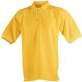 Kinder Polo Piqué Shirt 116 gelb