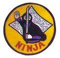 Budoland Stickabzeichen Ninja Semban