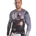 Top Ten Langarm-Shirt Rash Guard Top Ten MMA Warrior