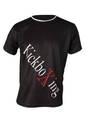 T-Shirt TopTen Kickboxing, schwarz XXL