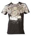 T-Shirt TopTen MMA Death, Schwarz-Gold L