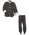 Kung Fu Anzug schwarz/weiß, Cotton 160