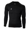 Ju-Sports Compression Shirt langarm schwarz