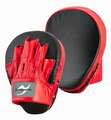 Ju-Sports Handpratzen vorgebogen, echt Leder