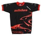 Adidas Rashguard SHARK schwarz/rot