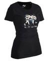 Ju-Sports Lady Ju-Jutsu-Shirt Artist schwarz