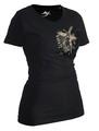 Ju-Sports Lady Karate Shirt Trace schwarz