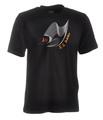 Ju-Sports Judo-Shirt Moiré schwarz