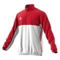T16 Teamjacke Männer AJ5384, Rot-Weiß 4XL