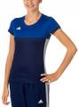 T16 ClimaCool T-Shirt Damen AJ5440, Navy Blau-Royal Blau XL