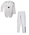 Taekwondoanzug Adi Club mit weißem Revers - Größe 190
