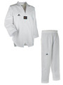 Taekwondoanzug ADI CHAMP III weißes Revers 210