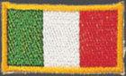 KWON Stickabzeichen Italien
