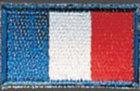 Stickabzeichen Frankreich