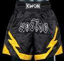 KWON KWON Thai-Box-Hose blau-schwarz