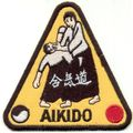 KWON Stickabzeichen Aikido